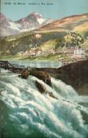 Carte Sépia  SUISSE   6529  St. Moritz .  Innfall U. Piz Julier - Non Classificati