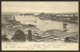BUDAPEST Margitszigeti Latkep Panorama Der Margareteninsel Hongrie - Hungría