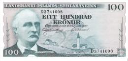 Iceland - Pick 40 - 100 Kronur 1957 - Unc - Islanda