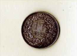 1 FR  Suisse Bronze 1952 Berne (LOT AB9) - Suisse