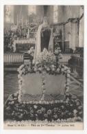 41 LOIR ET CHER - BINAS Fête De Ste Thérèse, 1er Juillet 1928 - Other Municipalities