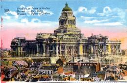 Bruxelles. Palais De Justice - Monumenti, Edifici