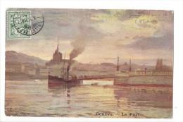 13301 - Genève Le Port Un Vapeur - GE Genf