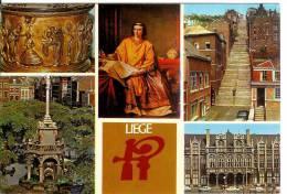 LIEGE - Carte 5 Vues - Liege