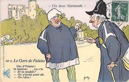 ILLUSTRATEUR GALRY - BONS NORMANDS ( Humoristique ) Le Gas De Falaise - CPA Colorisée 1911 - - Illustrateurs & Photographes