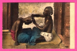 Colombo - Ceylon - Missions Des Oblats De Marie Immaculée à Ceylan - Barbier Tamoul - NELS - THILL - Colorisée - Sri Lanka (Ceylon)