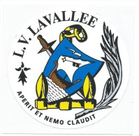 149 - MARINE NATIONALE - AUTOCOLLANT LV LAVALLEE - Stickers