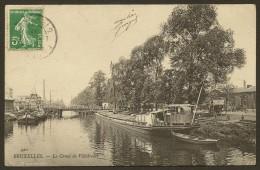 BRUXELLES Rare Le Canal De Villebroeck (ND Phot) Belgique - Maritiem