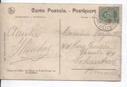TP 152 Albert Croix-Rouge S/CP C.Ostende/Oostende En 1919 V.Schaerbeek PR2352 - Covers & Documents