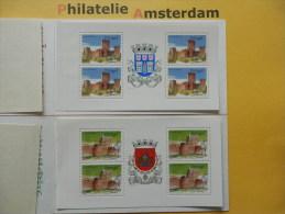 Portugal 1986, CASTLES CHATEAUX KASTELEN BURCHTEN SCHLOSS CASTELLO: Mi 1688-89, ** - (BK) - Kastelen