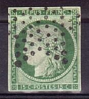Cérès N° 2  Oblitération étoile Muette - 1849-1850 Ceres