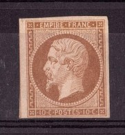Napoléon III N° 13B - Neuf * - 1 Voisin - 1853-1860 Napoleon III