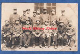 CPA Photo - MARSEILLE - Dépot Du 115e Régiment Territorial - Ecrit Par Le Poilu M. RIEHL 15e Compagnie - 1914 WW1 Cachet - Guerre 1914-18