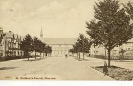CPA (royaume Uni )    St Matthew S Church Skegness - Angleterre