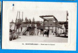 AVR441, Montbéliard, Pont Sur Le Canal, Calèche,animée, Gros Trou De Punaise,  Circulée 1915 Sous Enveloppe - Montbéliard