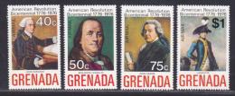 GRENADE AERIENS N°   28 à 31 (A) Dent.14,5 ** MNH Neufs Sans Charnière, TB  (D950) - Grenade (1974-...)
