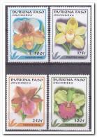 Burkina Faso 1996, Postfris MNH, Flowers, Orchids - Burkina Faso (1984-...)