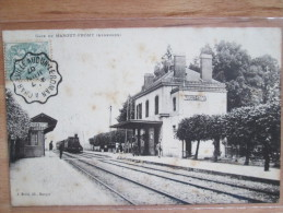 GARE DE MARGUT  FROMY   1907 Petite Rousseurs - Otros Municipios
