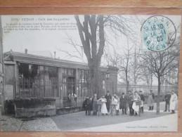 SEDAN CAFE DES SOQUETTES 1905 - Sedan