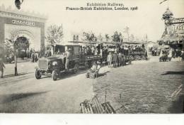 CPA ( Royaume Uni   )  LONDON  1908  Franco -britisch Exibition - Non Classés