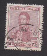 Argentina, Scott #224, Used, Jose De Martin, Issued 1916 - Argentine