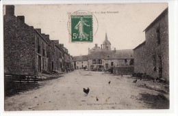 Thourie - Rue Principale / Edition Drohard N°1353 - France