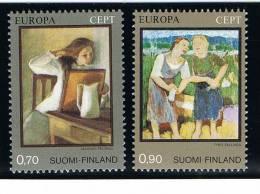 Finland ...  Yvert ...     728/729        ...  **  ... Postfris  ...  MNH  ...  Postfrisch ...   Neuf ** - Nuovi