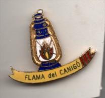 Flamme Du Canigo. Feux De La St Jean (66) - Pin's