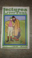 Revue Lectures Pour Tous Juin 1913 Forain Islam Marine Danse Pavlova - Livres, BD, Revues