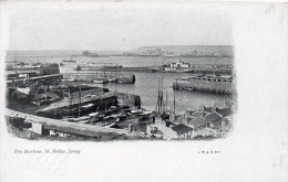 JERSEY THE HARBOUR ST HELIER - Postcards