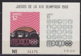 1968 MEXIQUE Mexico  ** MNH . . . . [BK37] - Summer 1968: Mexico City