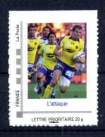 "L' Attaque .Adhésif Neuf **.Collector "" AS MONTFERRAND CLERMONT AUVERGNE "" - Collectors"