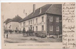 CPA 25 - ORCHAMPS VENNES - HOTEL DU COMMERCE (CARTE PRECURSEUR) - Francia