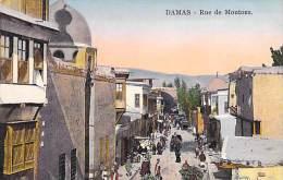SYRIE Siria ( DAMAS Damascus ) - Rue Des Moutons - CPA Colorisée N° 45 CD - ( Syrien Syrië СИРИЯ ) - Syrie