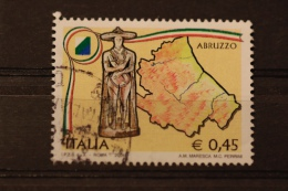 ITALIA USATI 2004 - REGIONI D´ITALIA ABRUZZO - SASSONE 2773 - RIF. G 0376 - 6. 1946-.. Repubblica