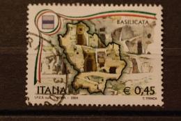 ITALIA USATI 2004 - REGIONI D´ITALIA BASILICATA - SASSONE 2774 - RIF. G 0379 - 6. 1946-.. Repubblica