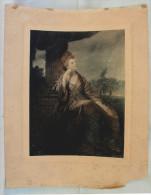 Gravure Représentant Une Duchesse (Lancaster?) - Engravings