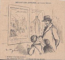 EMPRUNT NATIONAL - DESSIN METIVET - RECONSTRUCTION ECOLES - 1920 - Vieux Papiers