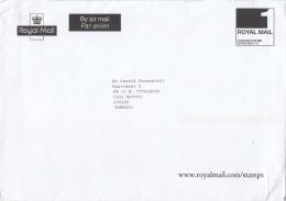 3001FM- ROYAL MAIL PREPAID COVER, EDINBURGH, UK - 1952-.... (Elisabetta II)