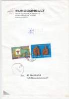 3025FM- POST MUSEUM, UNESCO, THE THINKER AND THE WOMAN ANCIENT STATUETTES, STAMPS ON COVER, 2006, ROMANIA - Lettres & Documents