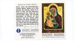 3 Stück Andenkenbild Von Radio Maria Mit Gebet Auf Rückseite - Religion &  Esoterik