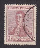 Argentina, Scott #224, Used, Jose De Martin, Issued 1916 - Usati