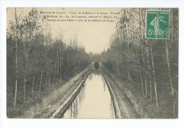 Tunnel De BALESMES - Canal De La Marne à La Saône - France