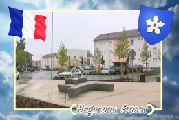 Postcard, Cities Of Europe Collection, Haguenau, France 2 - Cartes Géographiques