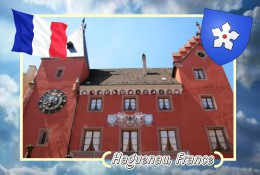 Postcard, Cities Of Europe Collection, Haguenau, France 9 - Cartes Géographiques