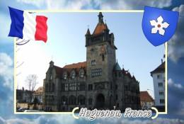 Postcard, Cities Of Europe Collection, Haguenau, France 11 - Cartes Géographiques
