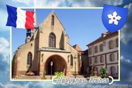 Postcard, Cities Of Europe Collection, Haguenau, France 12 - Cartes Géographiques