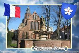 Postcard, Cities Of Europe Collection, Haguenau, France 13 - Cartes Géographiques