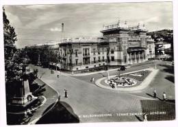 Y1803 Salsomaggiore Terme (Parma) - Terme Demaniali Berzieri / Viaggiata 1953 - Italia