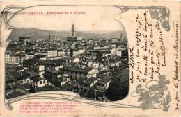 FIRENZE PANORAMA DAS.SPIRITO,(BALDINOTTI REPRESENTANT VIA DELLA SCALA FIRENZE REF 45371 - Firenze